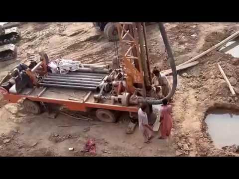 Pindi Bypass Gujranwala Construction at railway line bridge