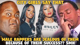 City Girls Say That Male Rappers Are Jealous Of Them Because Of Their Success?? SMH
