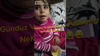 Gece Ve Gündüzü Bir Çocuğa Anlatmak Bukadar Komik Olamazdı🤣Tiktok Videoları