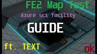 (TEXTO + GUIA) Teste de mapa de o-Azure Sci-Facility (simples insano) (SOLO) (ROBLOX)