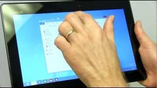 ASUS Vivo Tab RT TF600 Windows RT Tablet Unboxing & First Look Linus Tech Tips