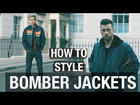 HOW TO STYLE THE BOMBER JACKET w/ ALI GORDON | JOEY LONDON