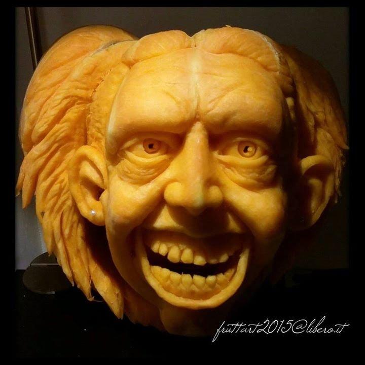Best halloween pumpkin carvings fruit carving intaglio
