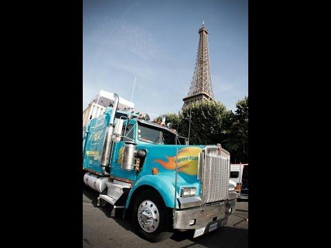 64.A kamionos Párizsban.Így juss be Párizsba 10 euróért.