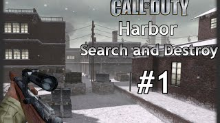 Call of Duty: Classic Multiplayer Search and Destroy Harbor #1 - Rifles Only