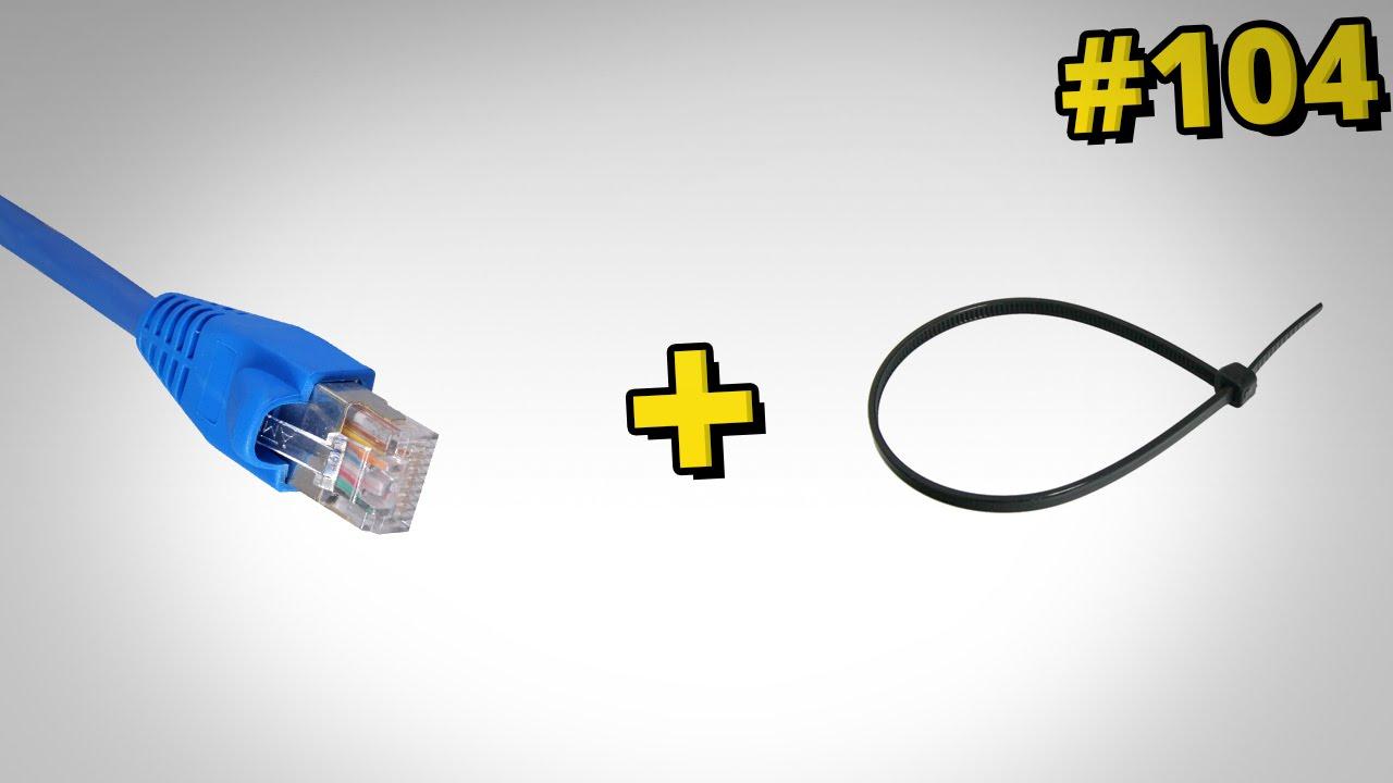 Jak naprawić końcówkę kabla sieciowego