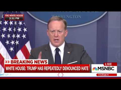 White House refuses to condemn murder of black man by white supremacist