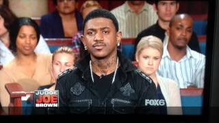 Watch Judge Joe Brown expose a rappers wack lyrics....this could be YOU !!