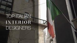 Top Italian Interior Designers