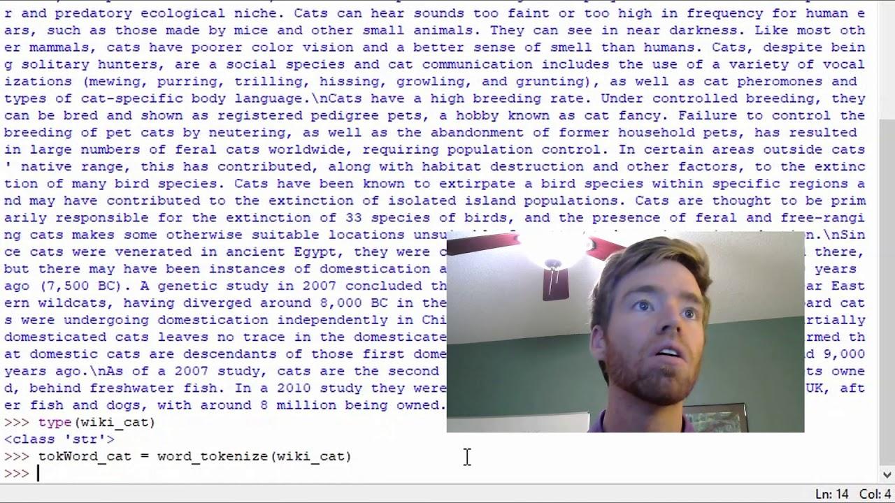 Ep 8 Python NLTK | Tokenize Words and Sentences