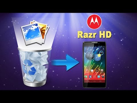How to Retrieve Deleted or lost Pictures/Photos from MOTOROLA Razr HD?