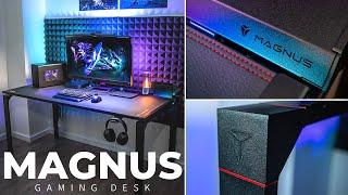 Secretlab MAGNUS Desk - Unboxing + Setup + First Impressions