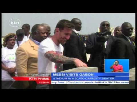 Lionel Messi sets up a stadium of 20,000 capacity for Africa cup of Nation