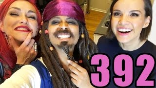 The Time I Was Captain Jack Sparrow (Day 392)