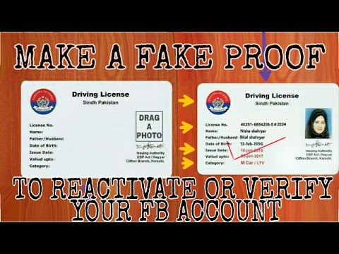 how to make 100 acceptable proof for facebook account