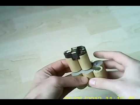 להפליא איך מחליפים סוללות/תאים למברגות 03-6323266 www.afik2.com - YouTube TV-54