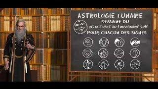 Astrologie Lunaire ☽ Chacun des signes 26 octobre au 1 novembre 2015