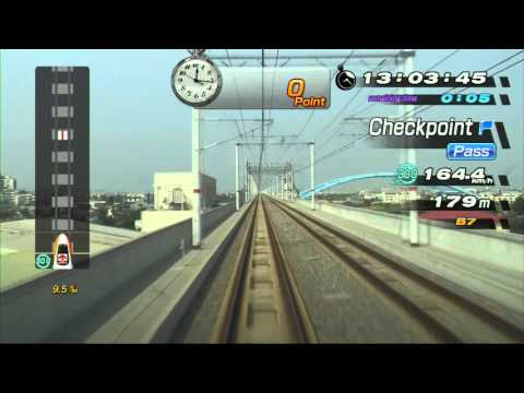 Railfan Taiwan High Speed Rail (PS3) - Trial Driving Mode - Taichung to Taipei (1080p)