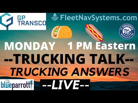 🔴 Q And A Live | NEW HOS | Roller Wiener Monday | Trucking Answers