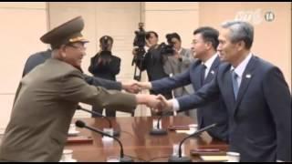 VTC14_Hàn Quốc - Triều Tiên tiếp tục đàm phán trong sự cảnh giác cao