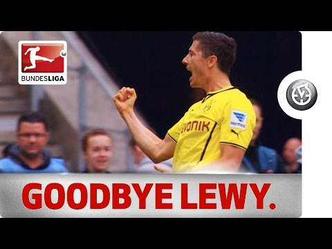Top Scorer - Robert Lewandowski's Final Bundesliga Game for Dortmund