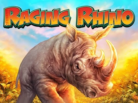 RAGING RHINO MEGA WIN OUT OF NOWHERE AND OTHER BONUSES