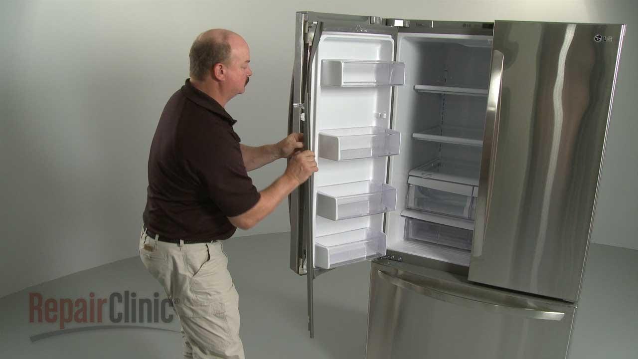Lg Refrigerator Door Gasket Retainer Left 4931jj2002f