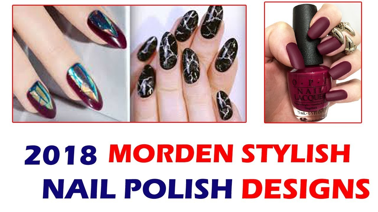 Stylish nail polish designs with multi colors 1 youtube stylish nail polish designs with multi colors 1 prinsesfo Image collections