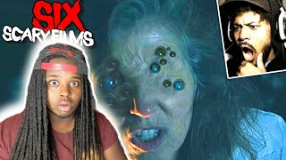 Reaction to CoryxKenshin 6 Scary Short Films YOU SHOULD NOT WATCH ALONE [SSS #046​]