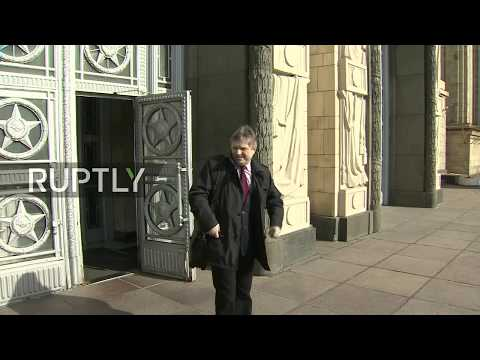 LIVE outside Russian MFA as Israeli Ambassador summoned: stakeout