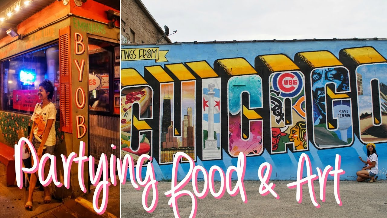 Partying, Food, Art and LOTS OF FUN  | Chicago Vlogs Part 2