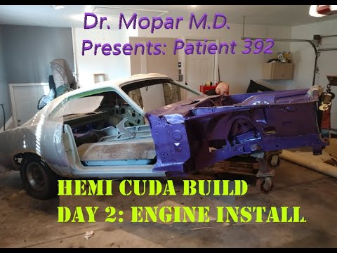 392 Hemi Cuda Build: BGE Engine Installation