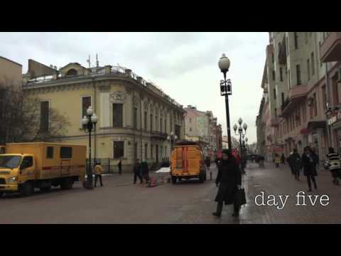 Travel Vlog: Moscow, Russia
