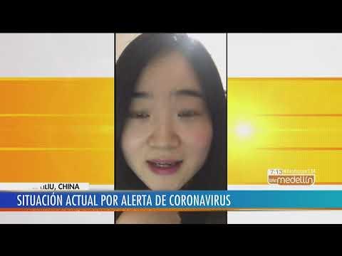 El Relato De Cómo Vive Hoy China La Alerta Por El Coronavirus [Noticias] - Telemedellín