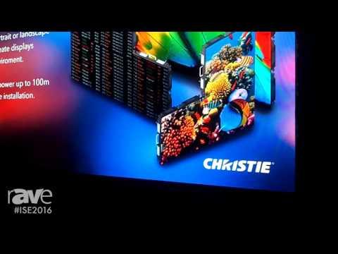 ISE 2016: Christie Showcases Velvet Merit and Velvet Apex Series of LED Displays