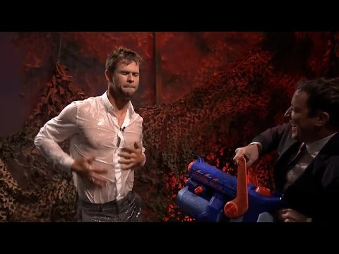 Chris Hemsworth Shows Off His Sexy Dance Moves – While Soaking Wet