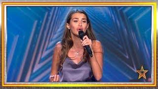 Esta UCRANIANA perdió a su padre y CANTAR le recuerda a él | Audiciones 6 | Got Talent España 2019