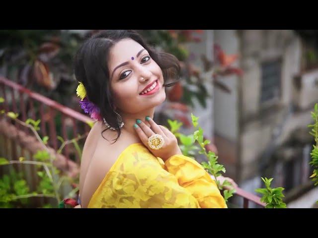 Bengal Beauty Rupsa Saree Photoshoot - Indian Beautiful Model HOT Photoshoot Exclusive