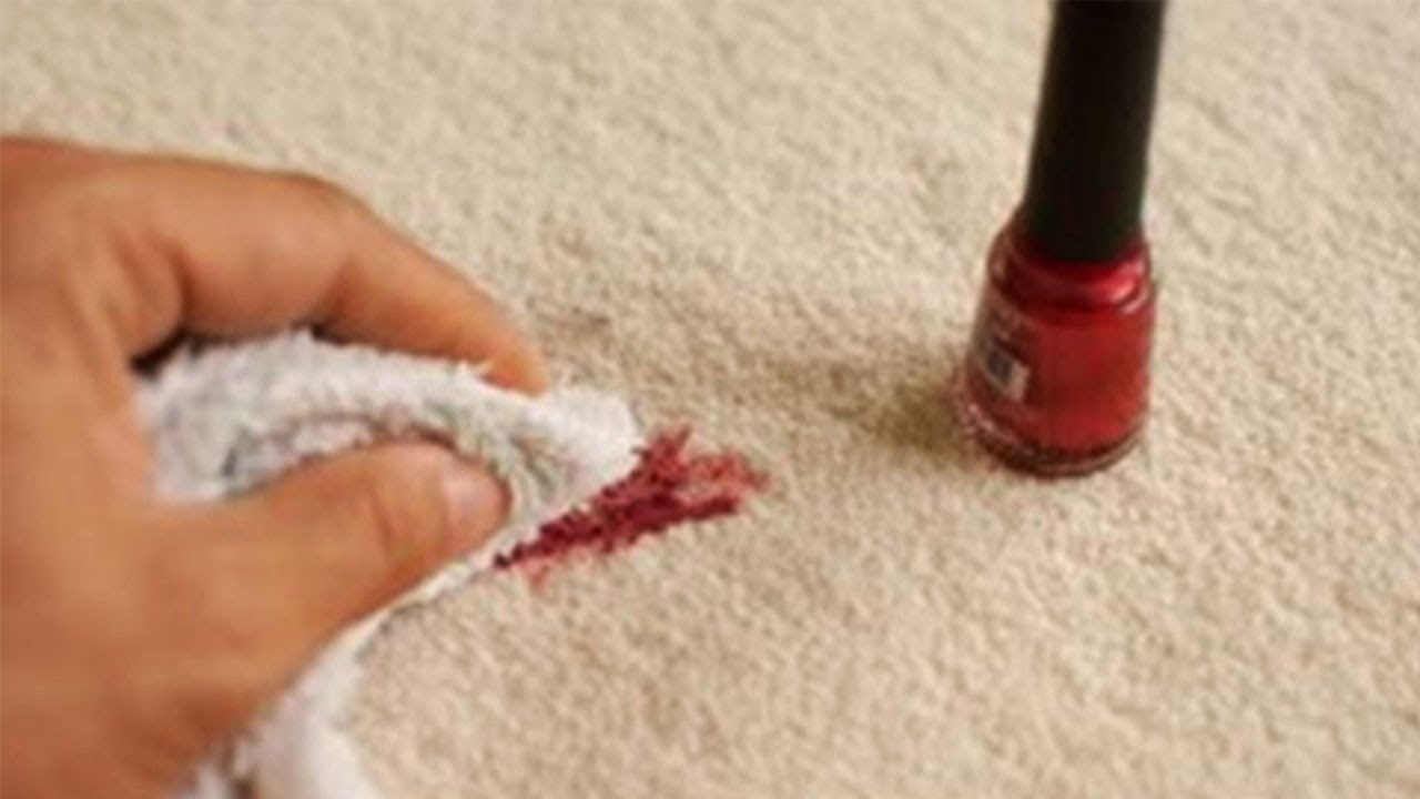 How To Remove Nail Polish From Clothes Youtube