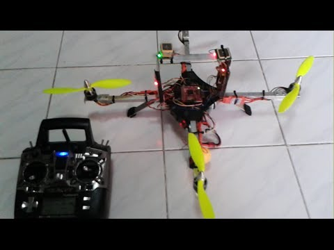 Automatic Takeoff Waypoint Landing Quadrotor
