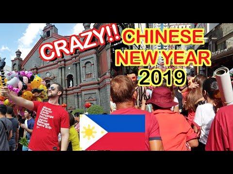 BINONDO, Manila CRAZY Chinese NEW YEAR 2019!! 🇵🇭  | YEAR of the PIG!! 🐷