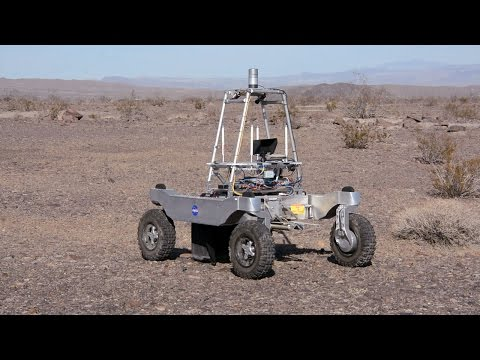 Rover Searches California Desert for Water to Simulate Future Lunar Missions