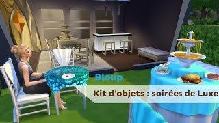 [Let's Discover] Kit Soirées de Luxe des Sims 4