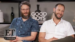Seth Rogen, Evan Goldberg Talk 'Good Boys'