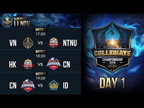 2016 LICC Group Stage Day 1 (Indonesian Cast)