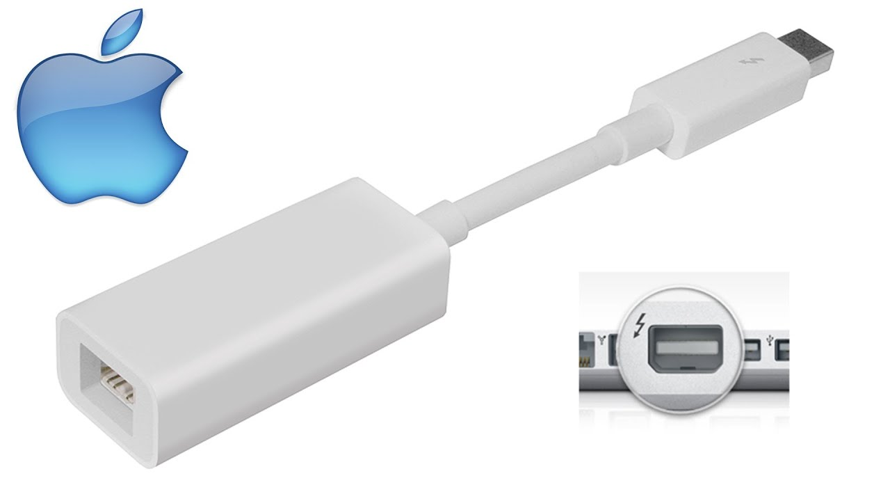 Apple Thunderbolt FireWire Adapter [UNBOXING] - YouTube