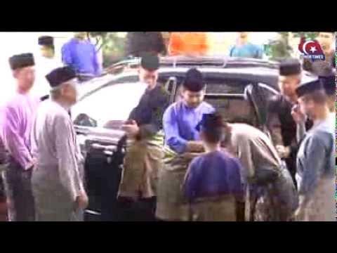 Solat Aidil Adha Bersama TMJ Tunku Ismail dan MB Johor Dato'Seri Khaled Nordin