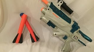 Vintage Review: Nerf Defender T3 Cyberstrike Blaster (A great concept)
