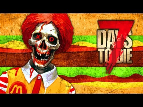 McZombie Special (7 Days To Die - War of the Walkers Mod)(Ep.20)