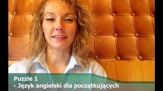 Puzzle 1 - Kurs języka angielskiego dla początkujących